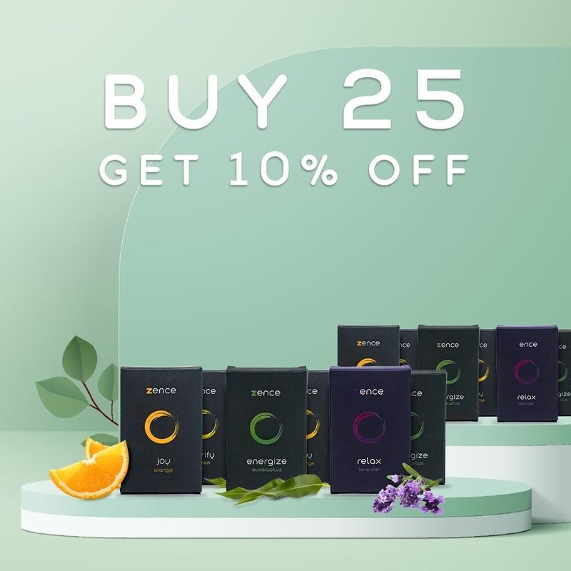 Zence Moods -Buy 25 Get 10% Off